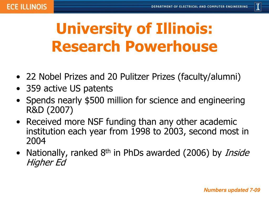 University of Illinois: