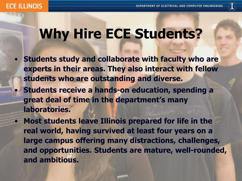 Why Hire ECE Students?