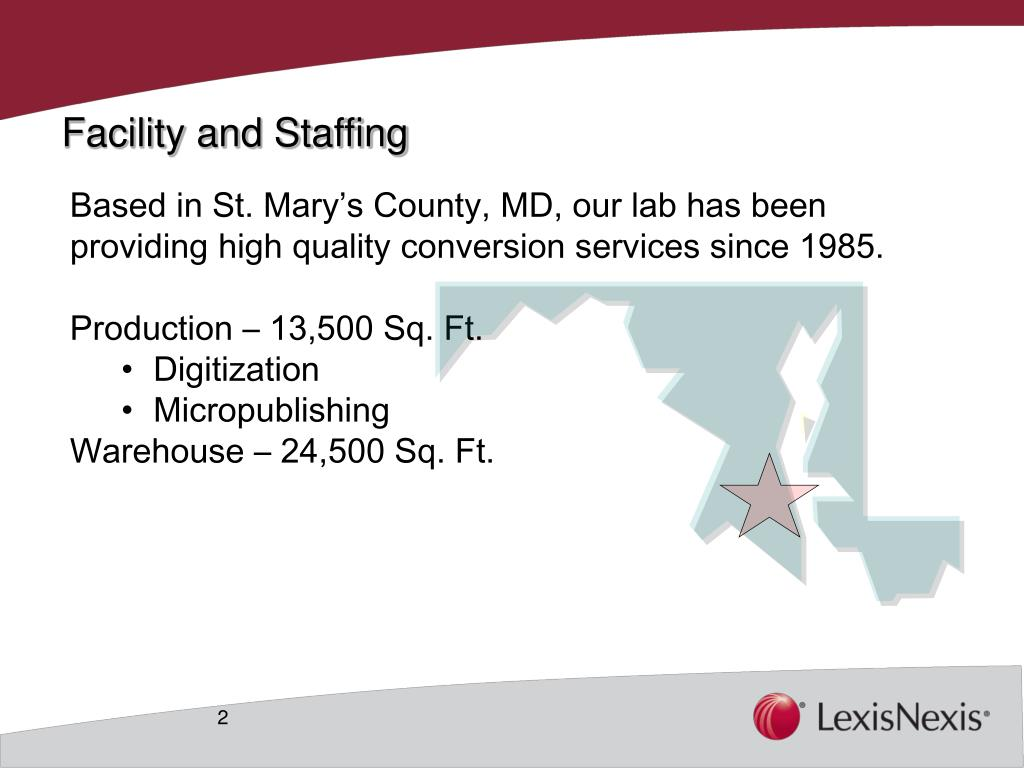 Facility and Staffing