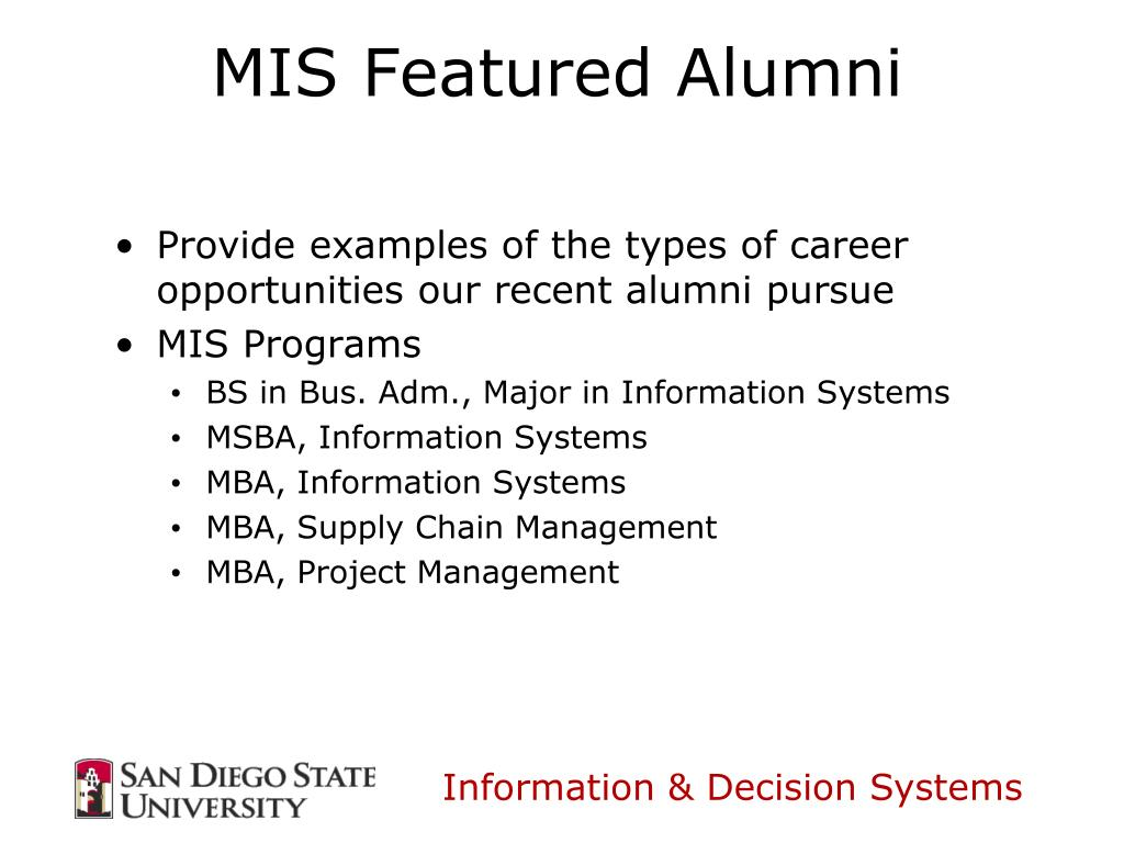 Provide examples of the types of career opportunities our recent alumni pursue