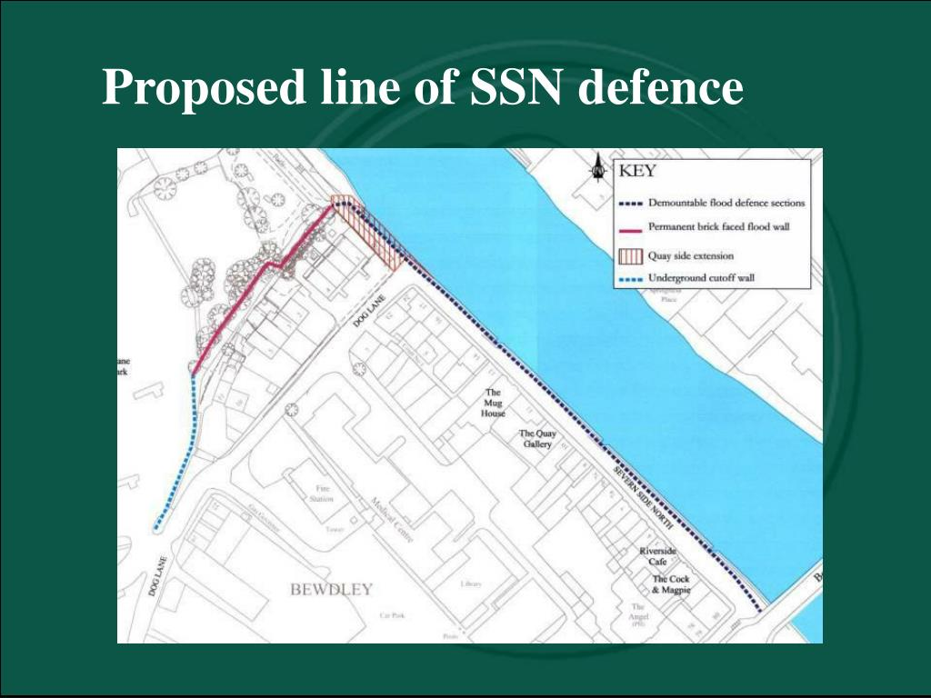 Proposed line of SSN defence