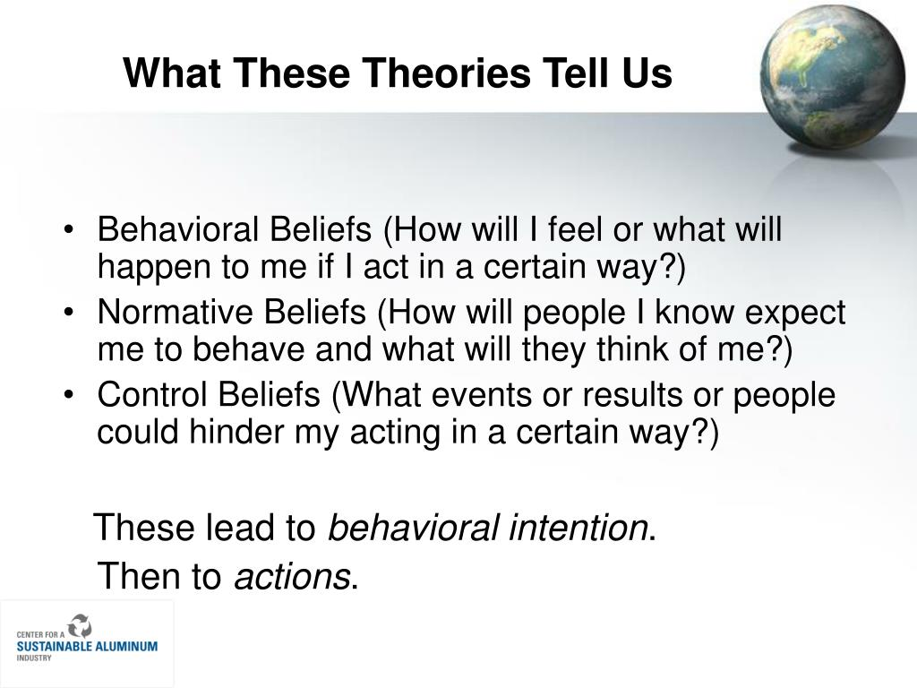 What These Theories Tell Us