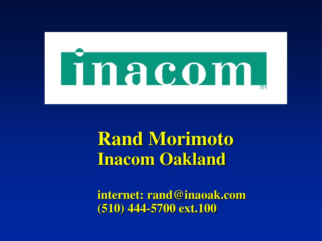 Rand Morimoto