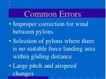 common errors38