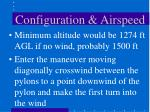 configuration airspeed21