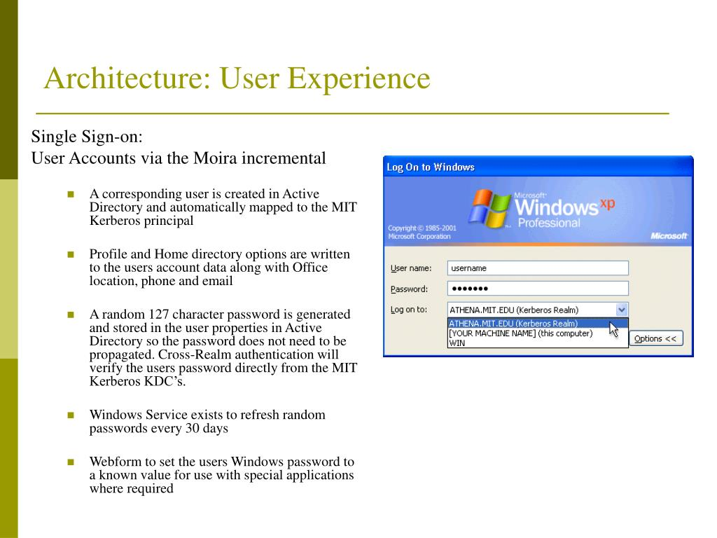 Architecture: User Experience