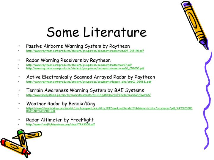 Some Literature
