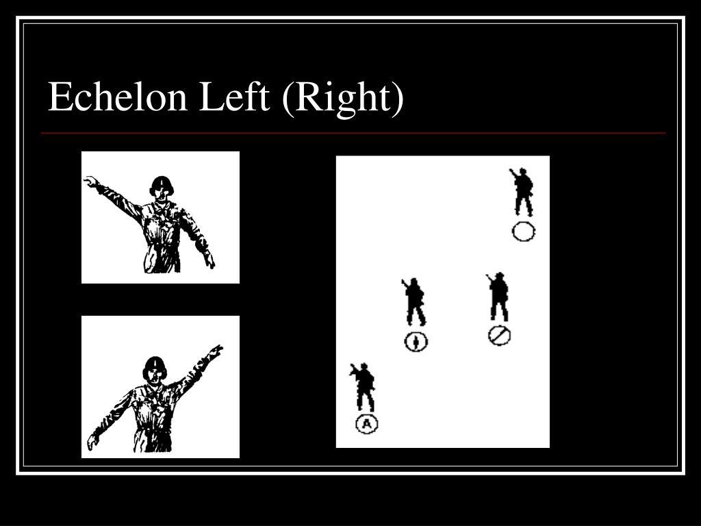 Echelon Left (Right)