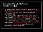enabling learning objectives4