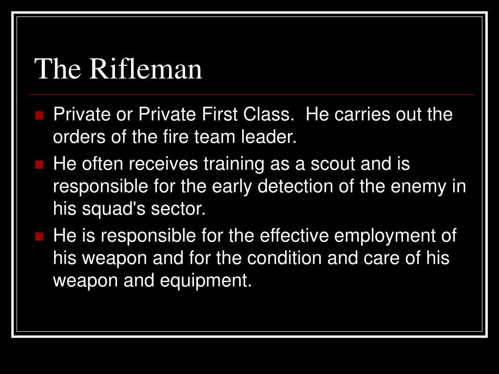 The Rifleman
