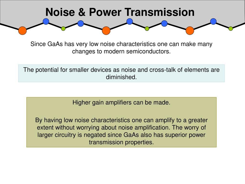 Noise & Power Transmission