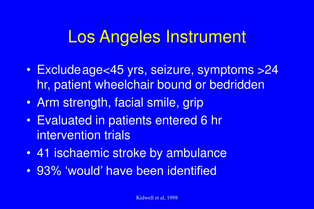 Los Angeles Instrument