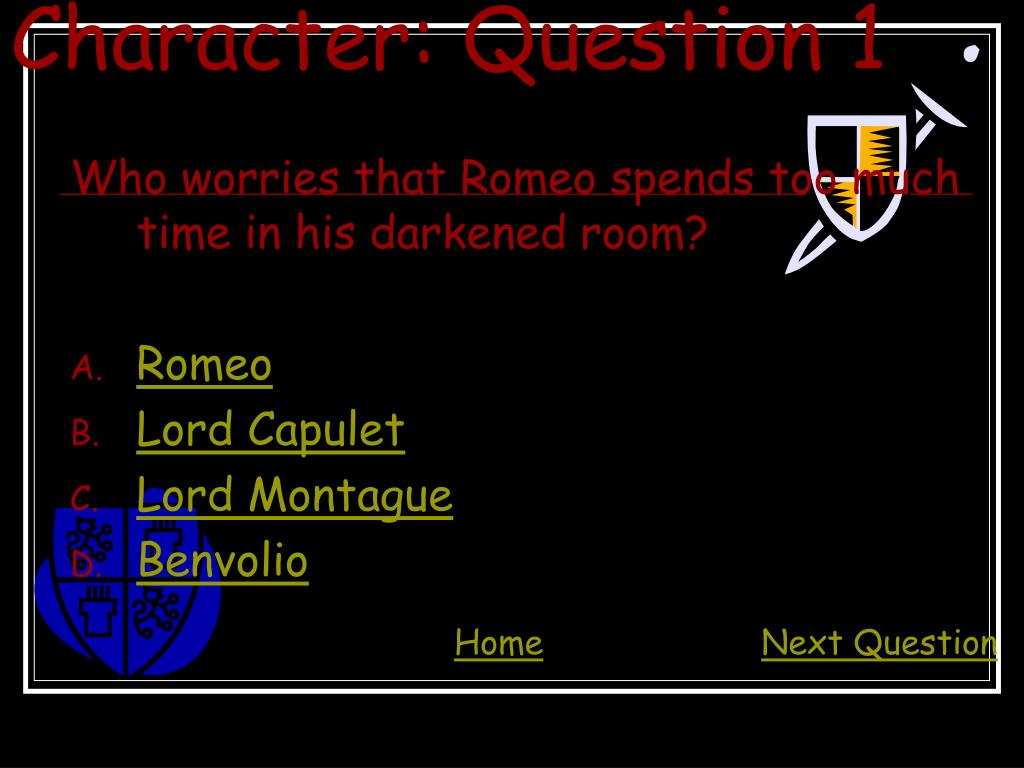 Character: Question 1