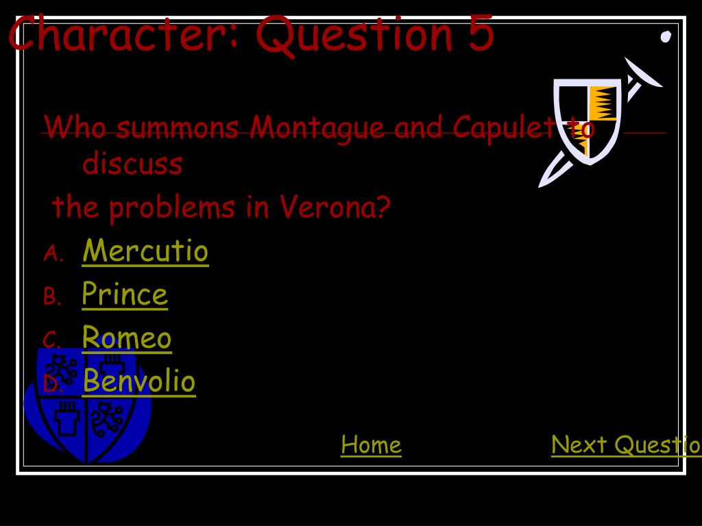Character: Question 5