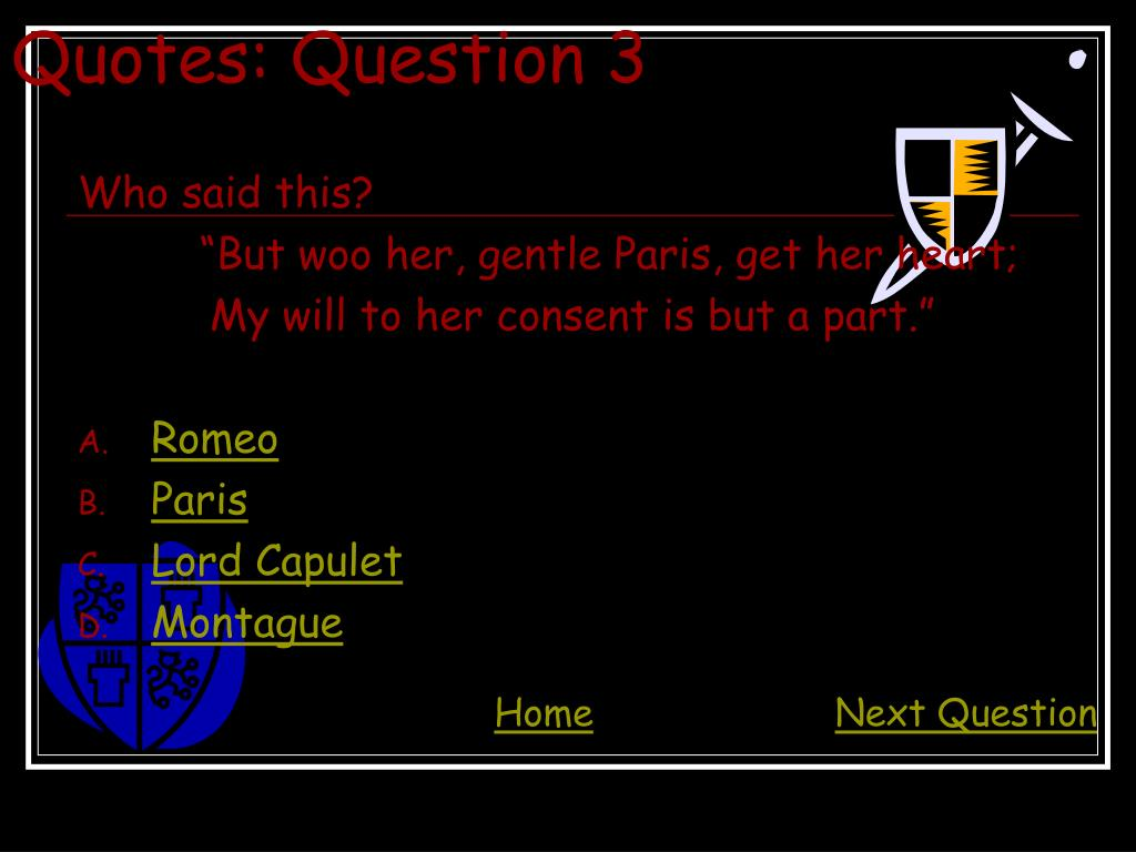 Quotes: Question 3