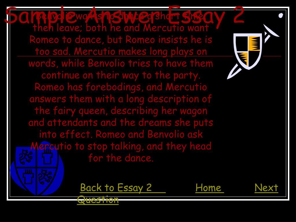 Sample Answer Essay 2