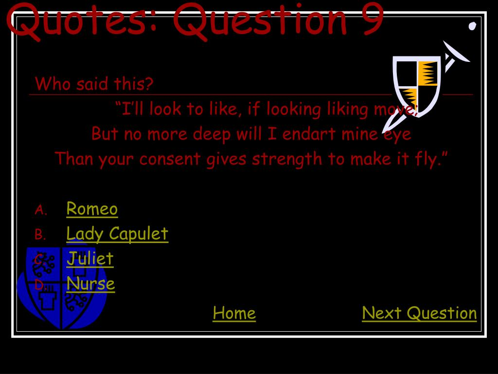 Quotes: Question 9