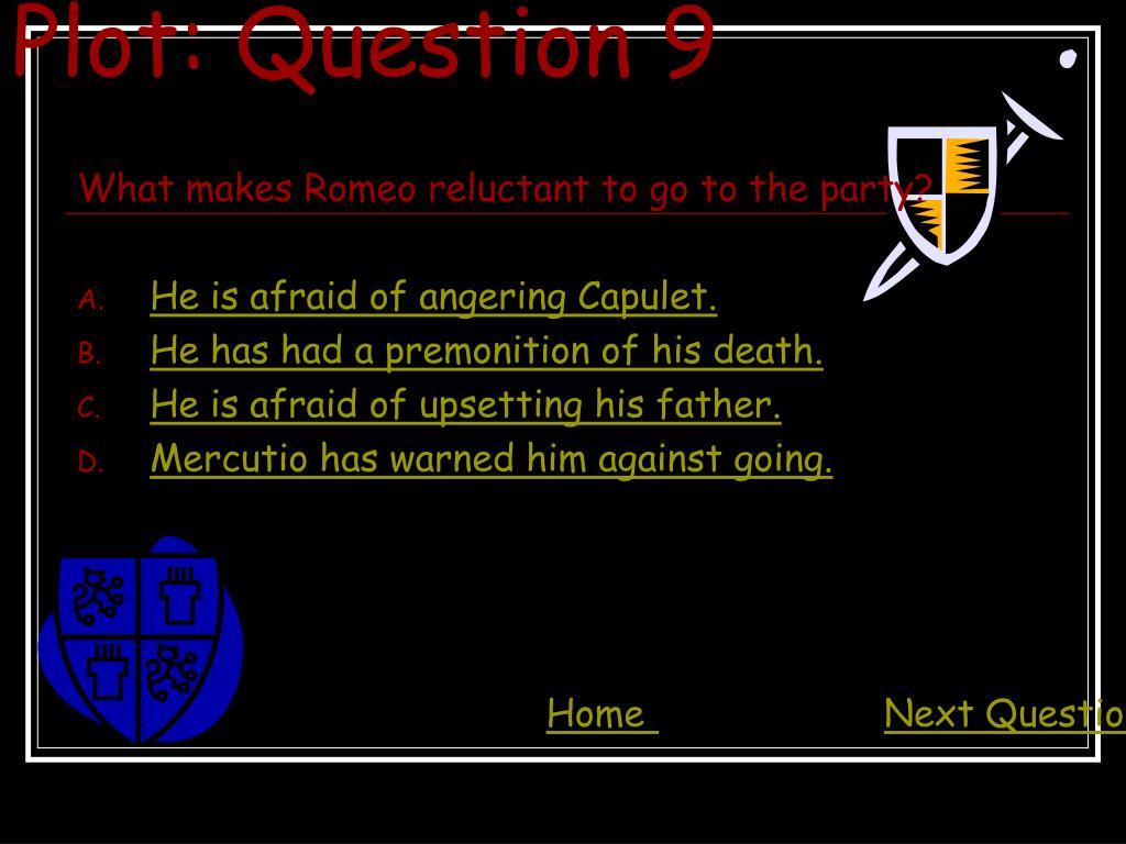 Plot: Question 9