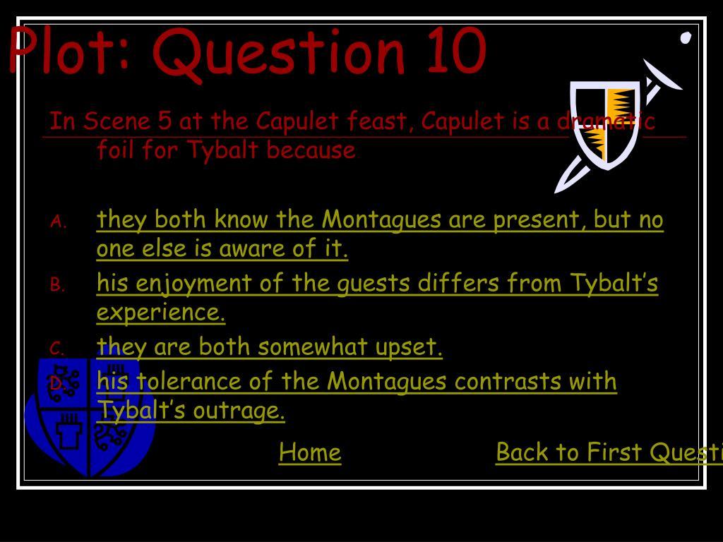 Plot: Question 10