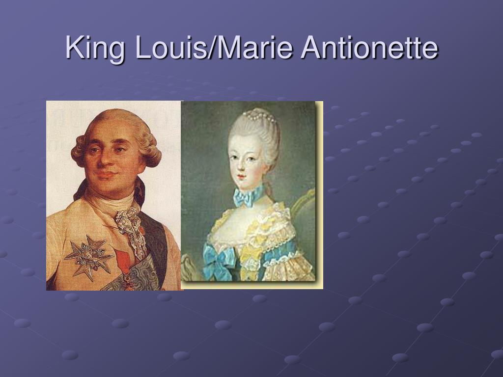 King Louis/Marie Antionette