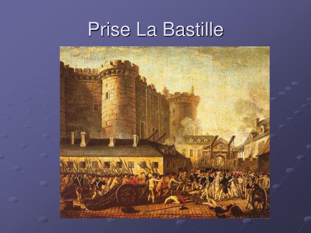 Prise La Bastille