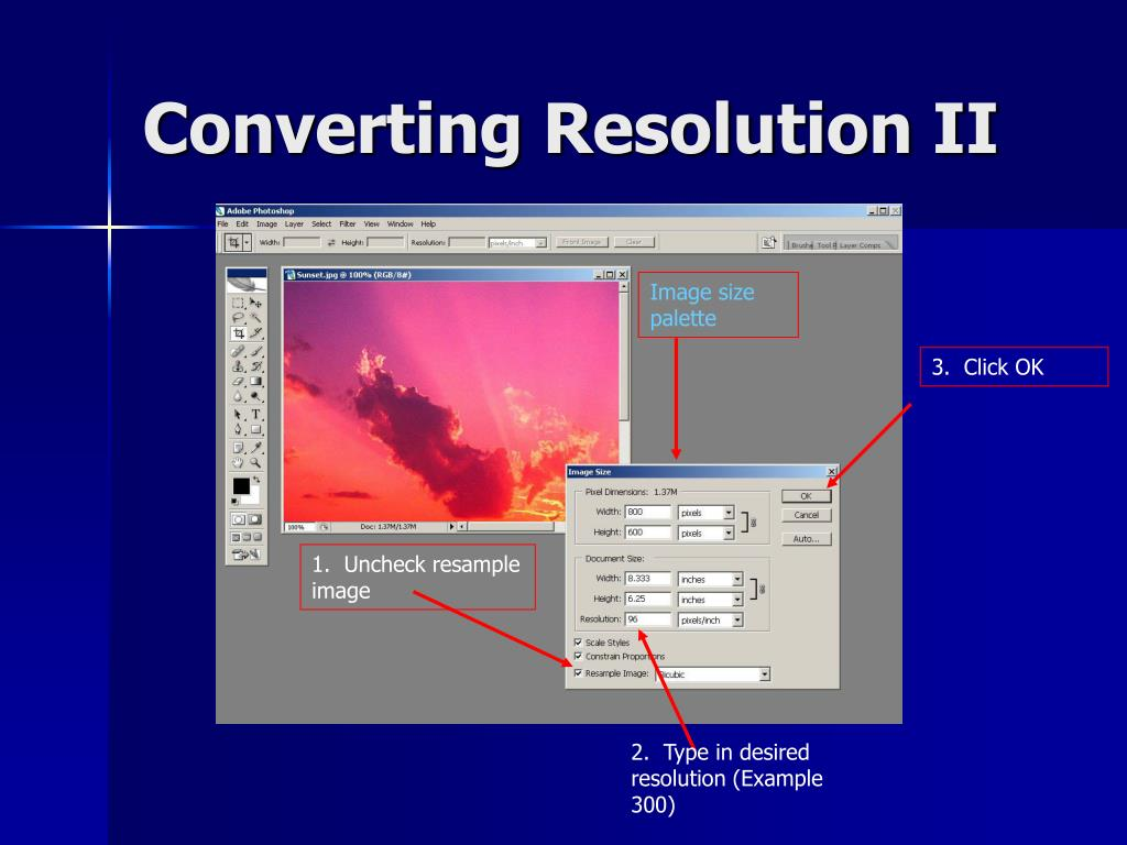 Converting Resolution II