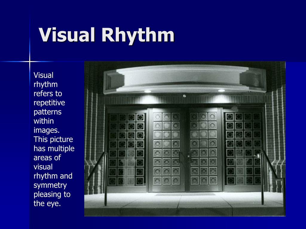 Visual Rhythm