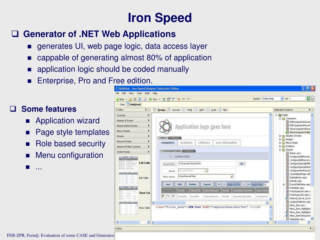 Iron Speed
