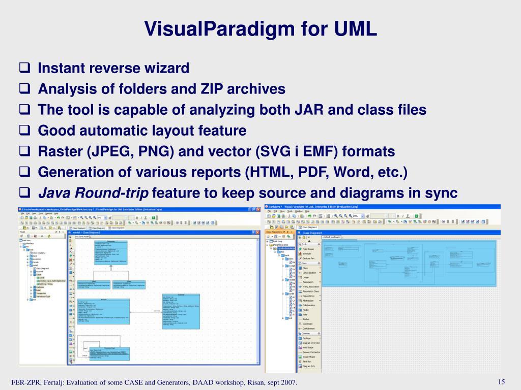 VisualParadigm for UML