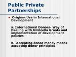 public private partnerships28
