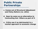 public private partnerships29