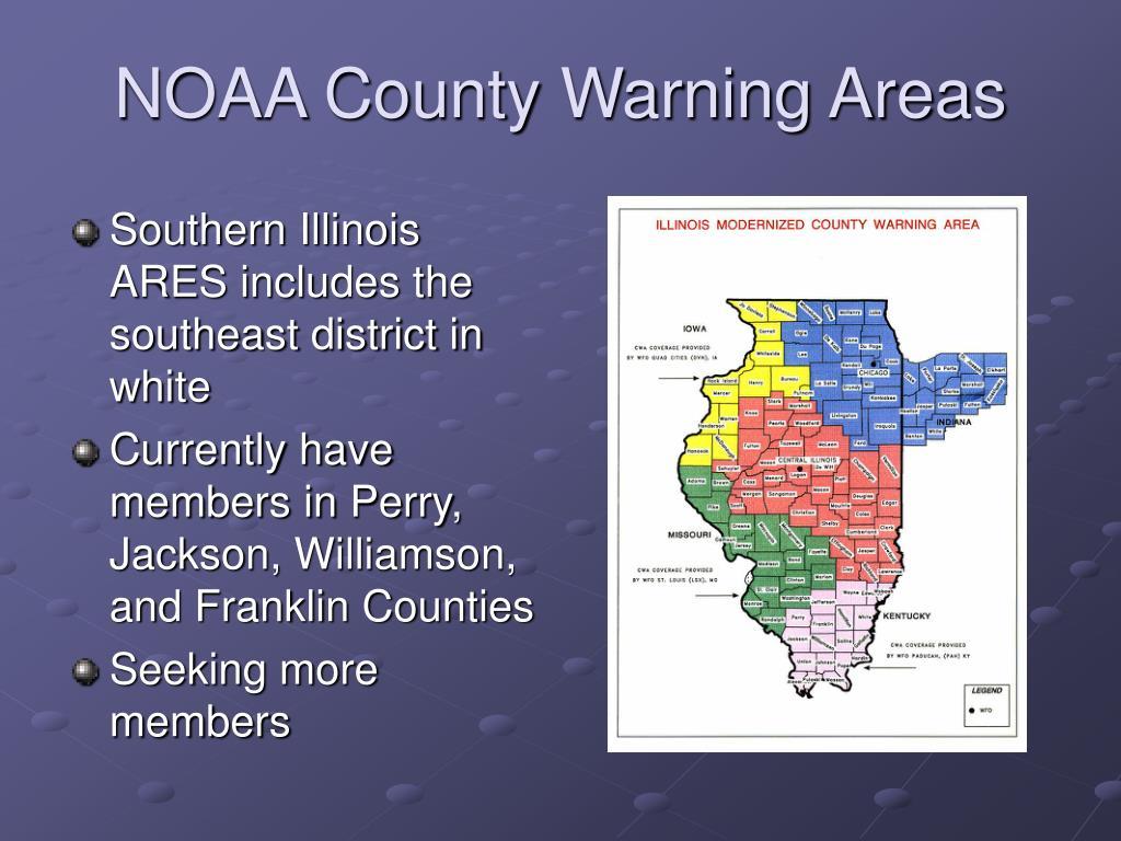 NOAA County Warning Areas