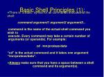 basic shell principles 1