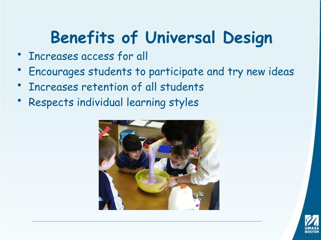 Benefits of Universal Design