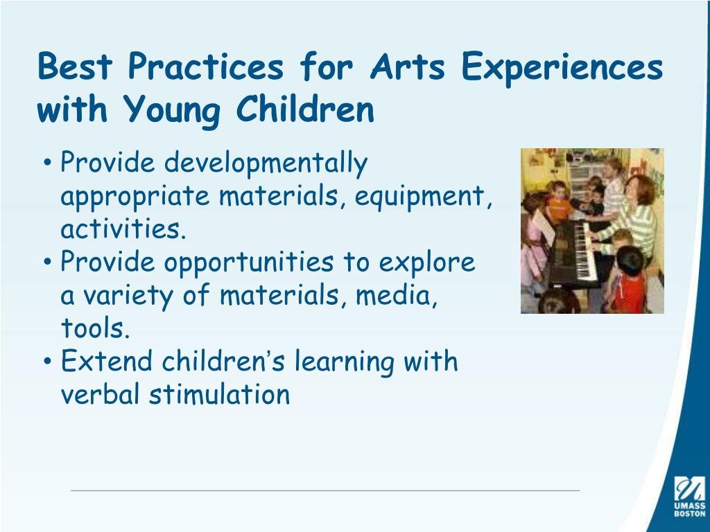 Best Practices for Arts Experiences