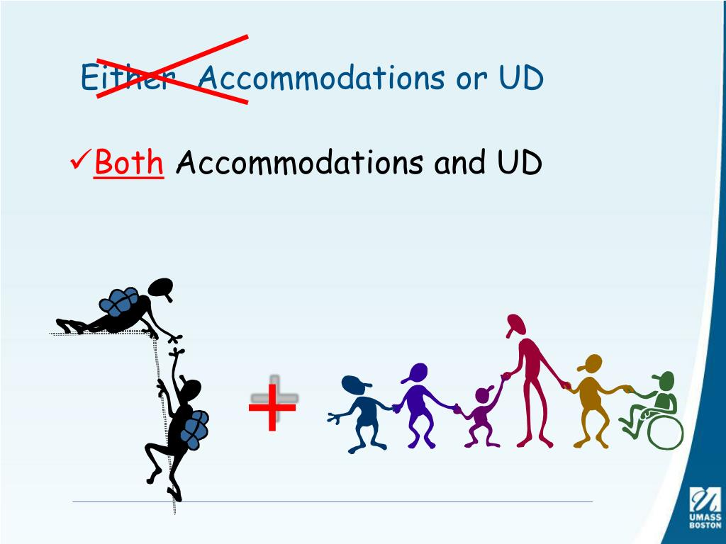 Either  Accommodations or UD