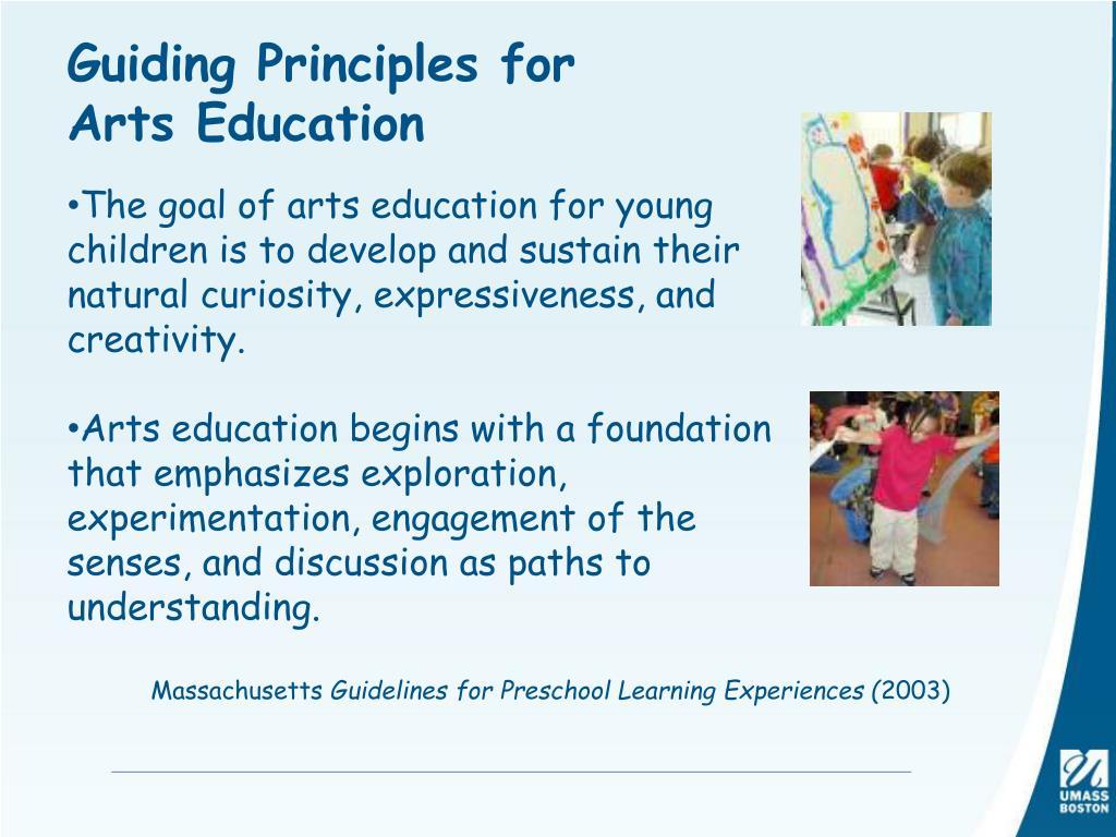 Guiding Principles for