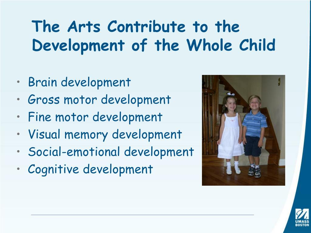 The Arts Contribute to the