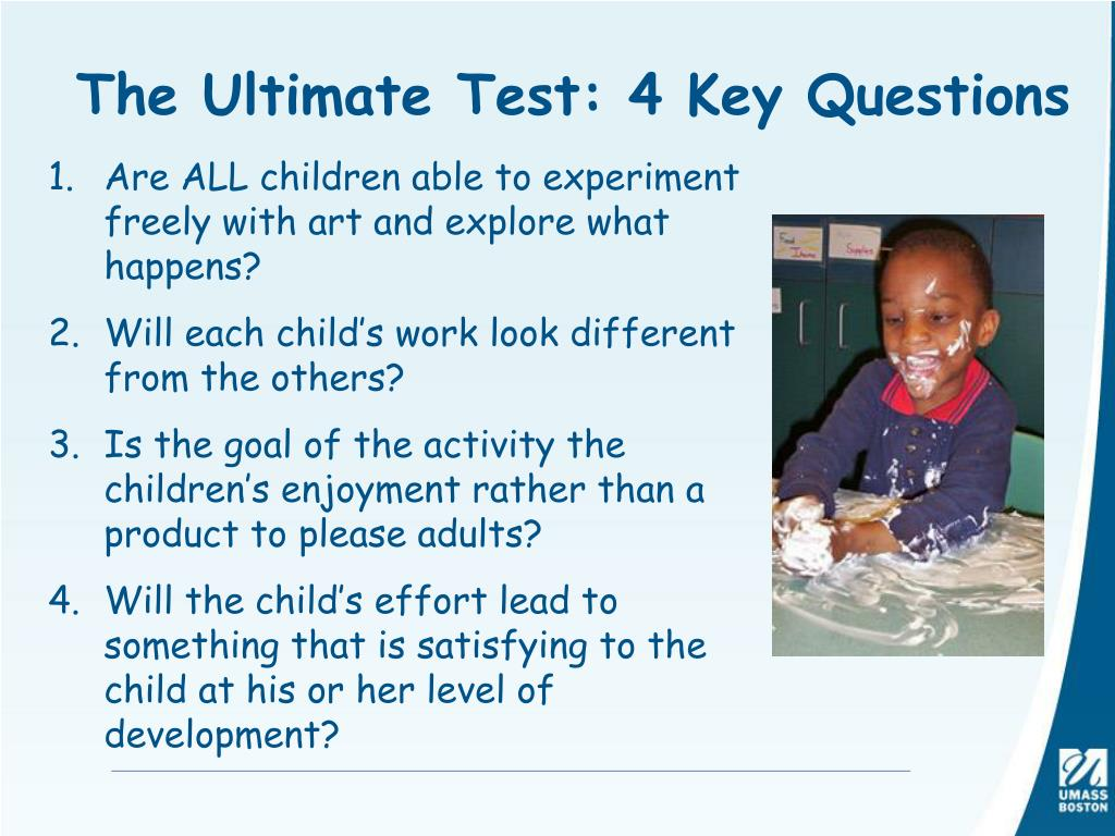 The Ultimate Test: 4 Key Questions