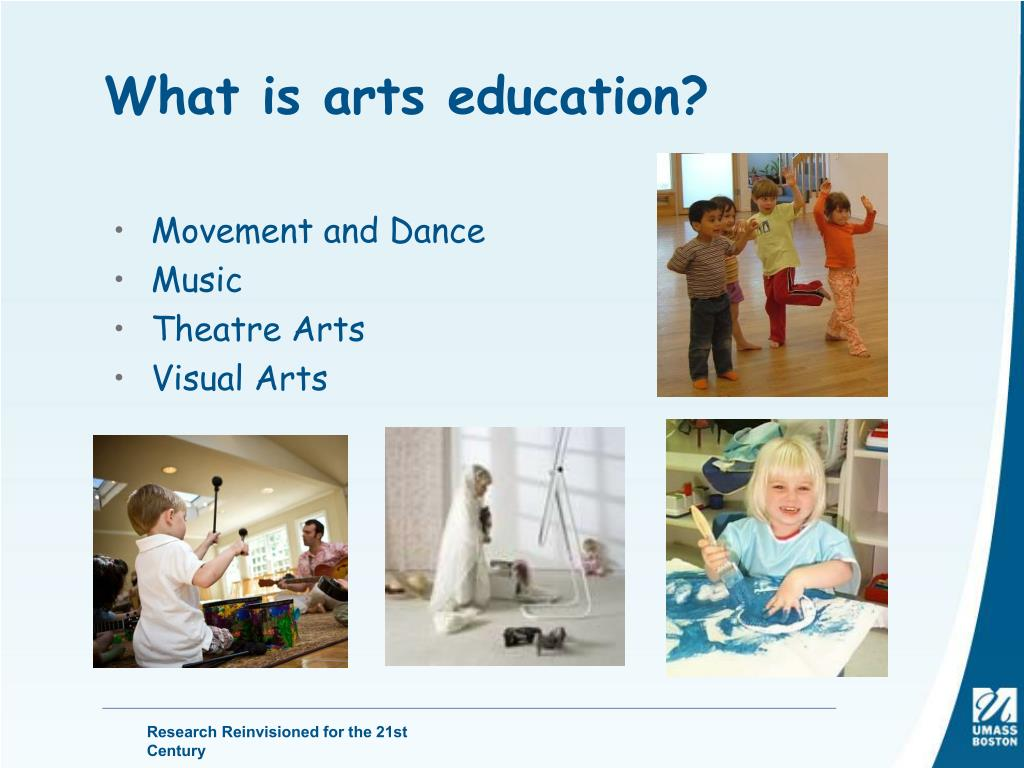 What is arts education?