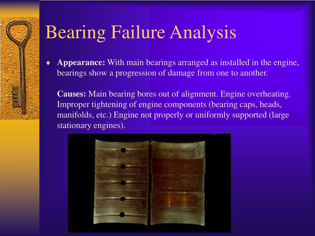 Bearing Failure Analysis