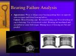 bearing failure analysis17