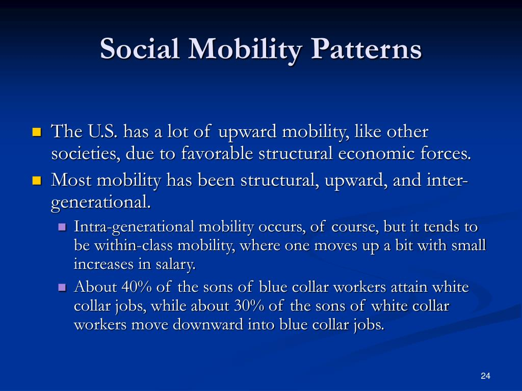 Social Mobility Patterns