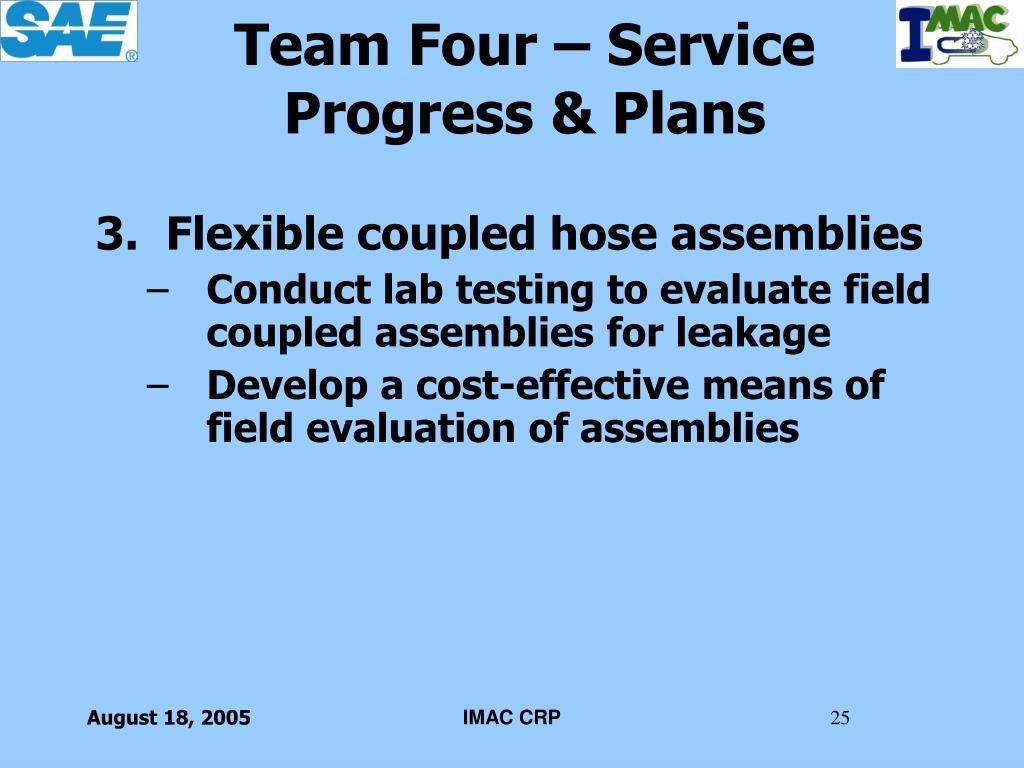Team Four – Service