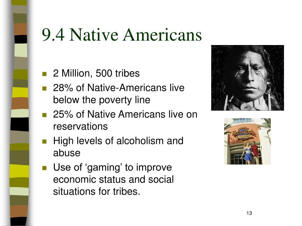 9.4 Native Americans