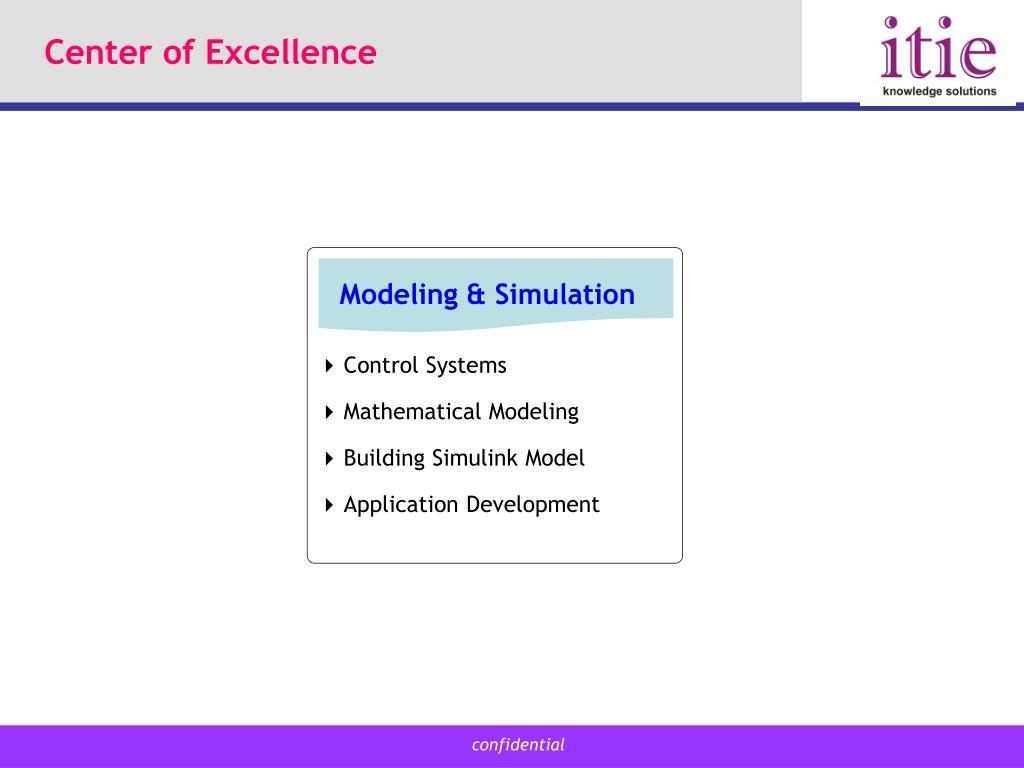 Modeling & Simulation