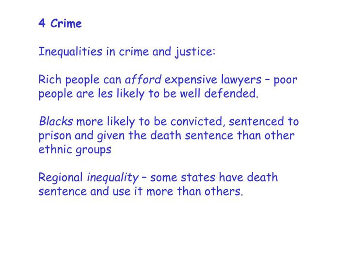 4 Crime