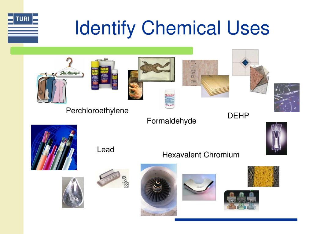 Identify Chemical Uses