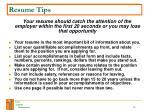 resume tips30