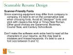 scannable resume design20